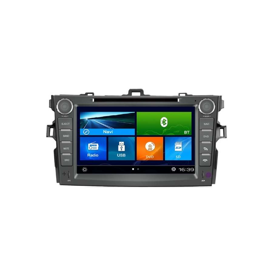 Navigatie Dedicata TOYOTA COROLLA DVD GPS AUTO CARKIT TV NAVD-k063