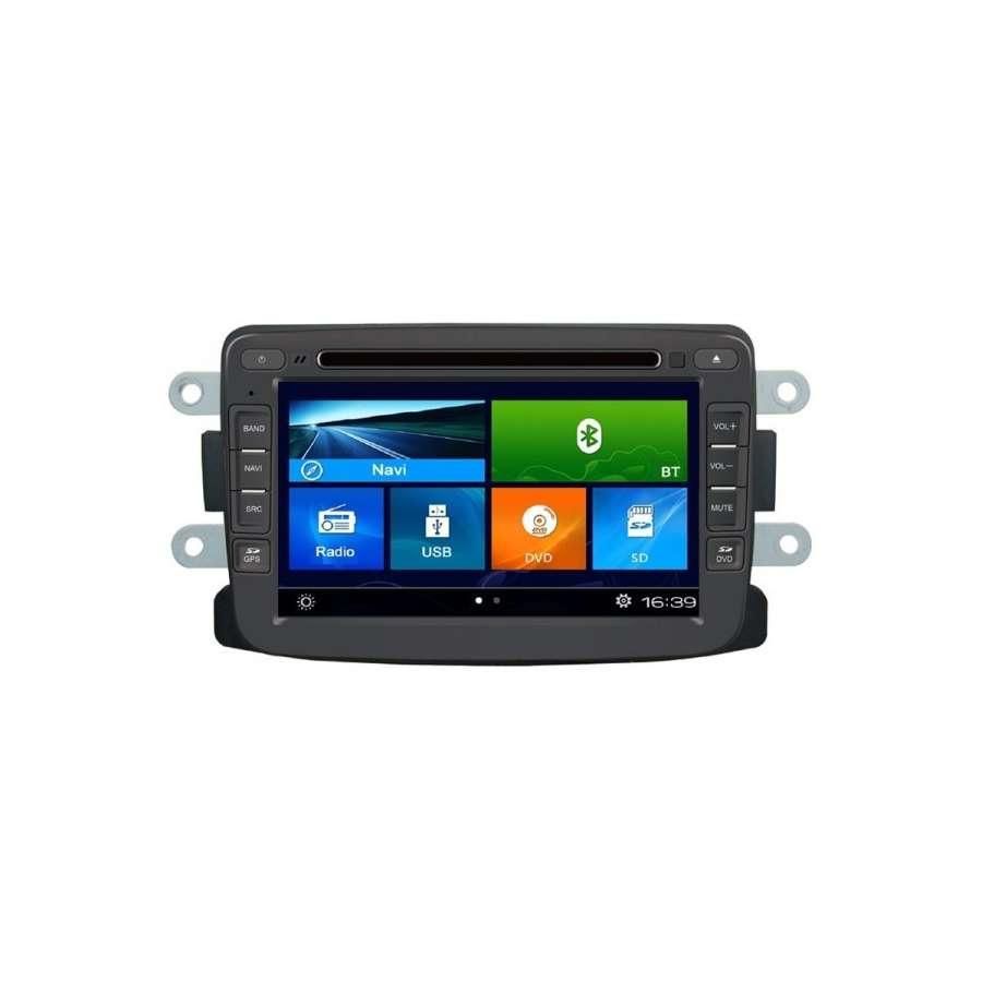 Navigatie Dedicata DACIA LOGAN DUSTER LODGY SANDERO DVD GPS AUTO CARKIT TV INTERNET NAVD-K157