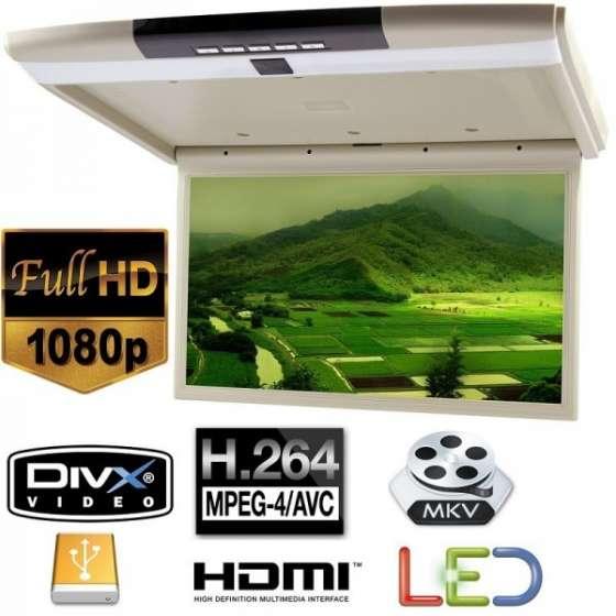 "Monitor de plafon auto 17.3"" cu rezolutie FULL HD 1080P"