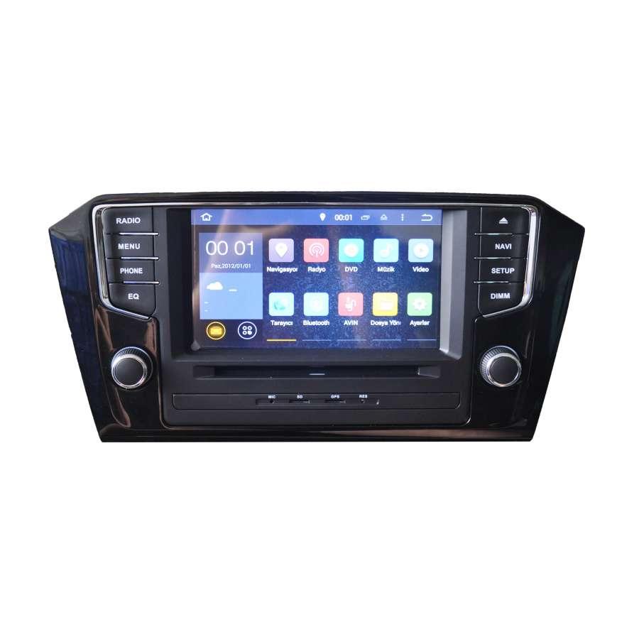 Navigatie Dedicata Cu Android Volkswagen Passat B8 2014 NAVD-A9521
