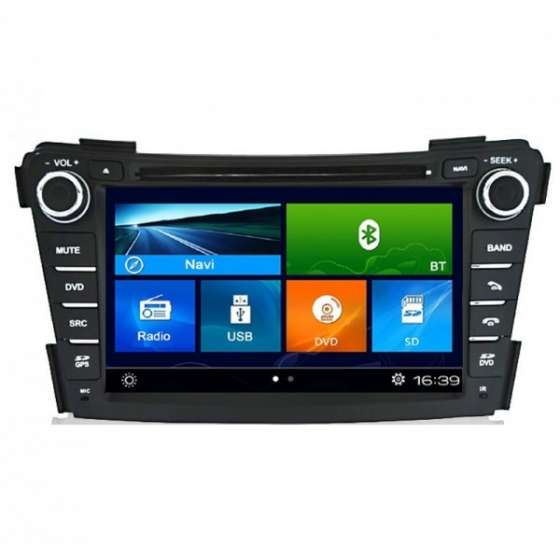 Navigatie Dedicata Hyundai I40 DVD GPS Auto CARKIT NAVD-K172