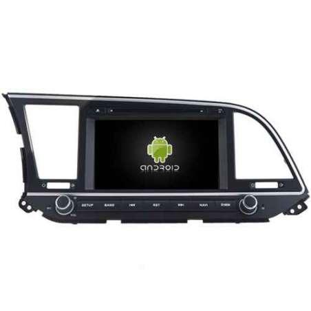 Navigatie Android HYUNDAI ELANTRA 2016 DVD AUTO GPS CARKIT INTERNET NAVD-A5578