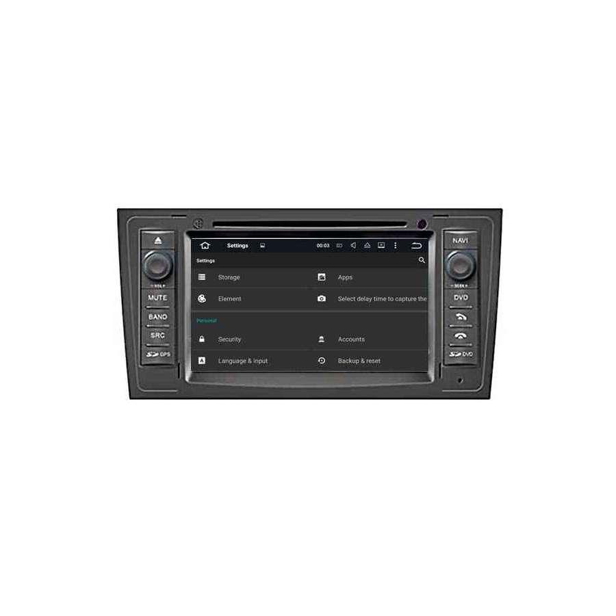Navigatie Android AUDI A6 DVD Auto GPS CARKIT Internet NAVD-A5575