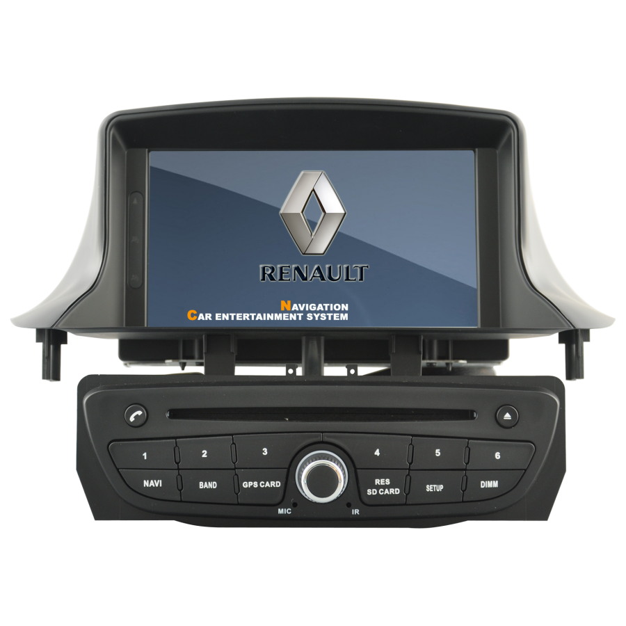Navigatie Android RENAULT FLUENCE MEGANE 3  DVD GPS Auto CARKIT NAVD-A5515
