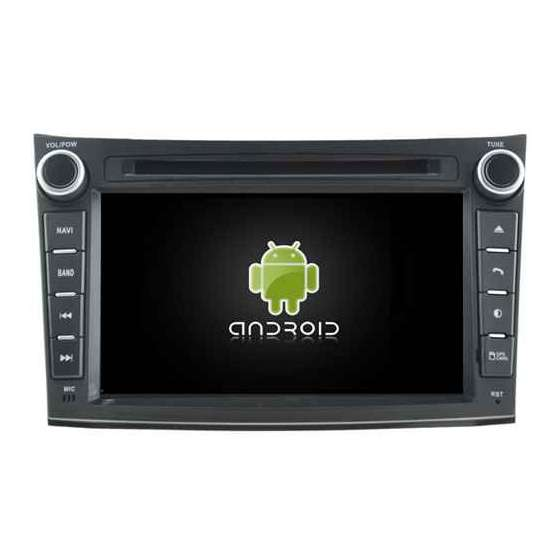 Navigatie Android Subaru Outback Legacy DVD GPS AUTO CARKIT NAVD-A5780