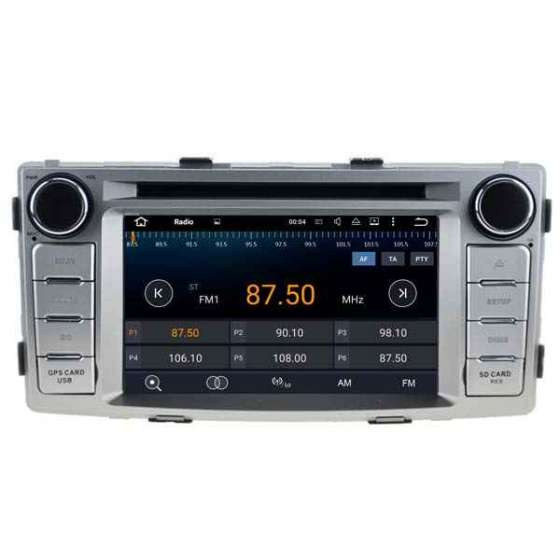 NAVIGATIE Android TOYOTA HILUX 2012 DVD GPS AUTO NAVD-A5709