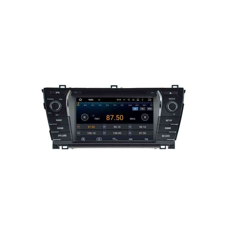 NAVIGATIE Android TOYOTA COROLLA 2014 DVD GPS AUTO NAVD-A5781