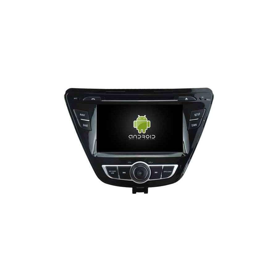 Navigatie Android HYUNDAI ELANTRA 2014-2016 DVD AUTO GPS CARKIT INTERNET NAVD-A5781