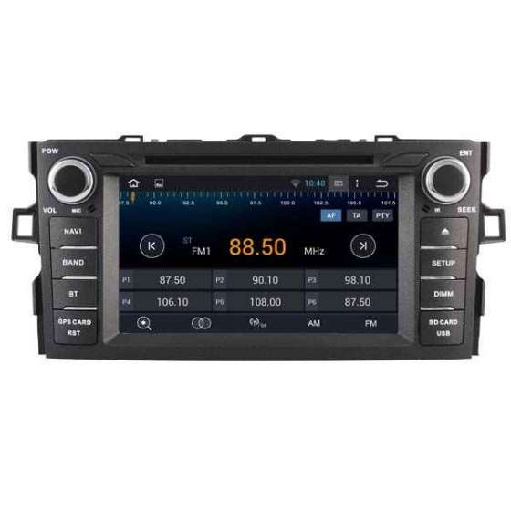 Navigatie Android TOYOTA AURIS 2007-2013 DVD GPS Auto CARKIT NAVD-A5730