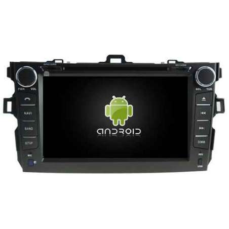 Navigatie Android Dedicata TOYOTA COROLLA DVD GPS AUTO CARKIT TV NAVD-A5749