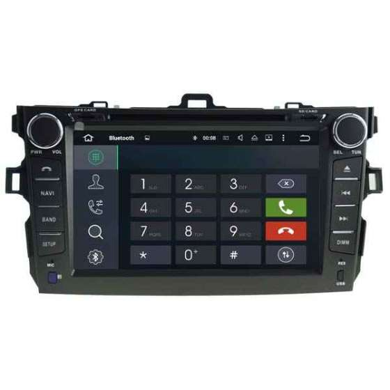 Navigatie Android Dedicata TOYOTA COROLLA DVD GPS AUTO CARKIT TV PX5 NAVD-P5749