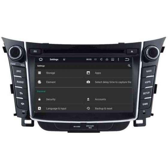Navigatie Dedicata Android Hyundai I30 DVD GPS Auto CARKIT Internet NAVD-A5724