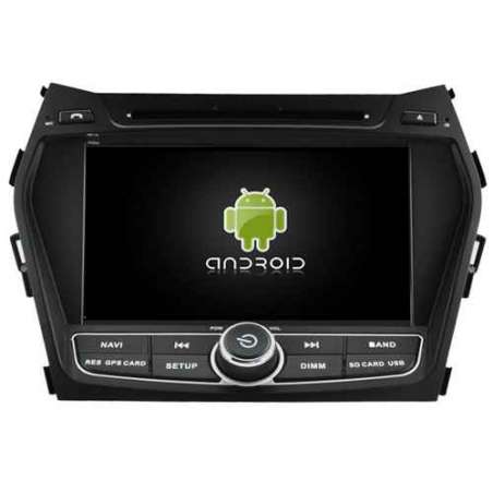 Navigatie Android Hyundai NEW Santa Fe ix45 DVD AUTO GPS CARKIT INTERNET NAVD-A5798