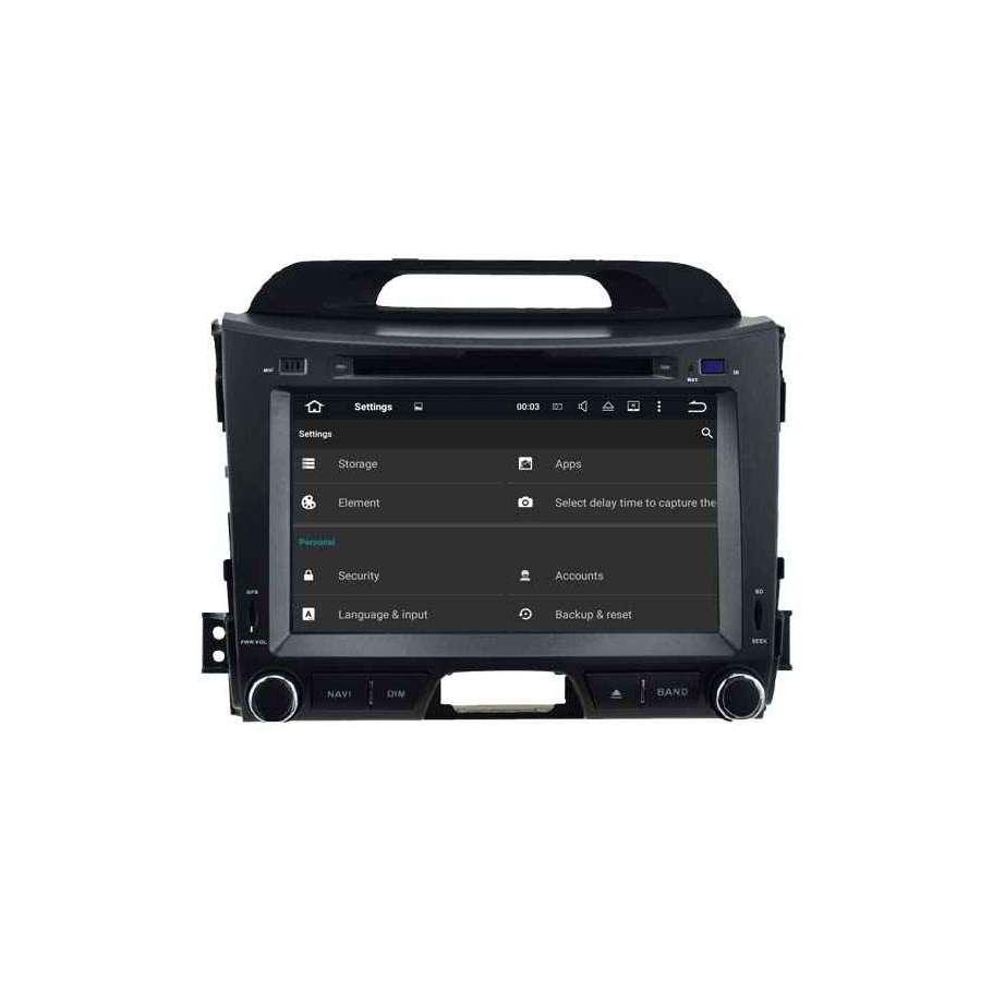 Navigatie Dedicata Cu Android Kia Sportage NAVD-A5743