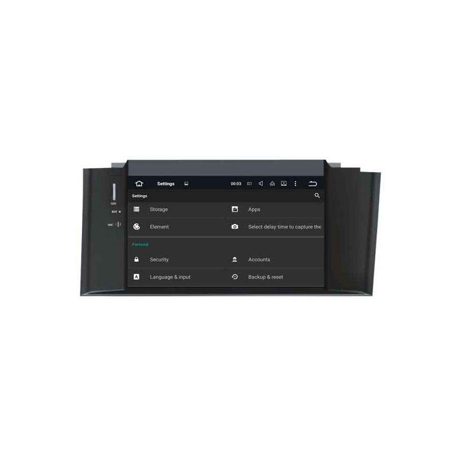 Navigatie Android Citroen C4 2012 navd-A5626