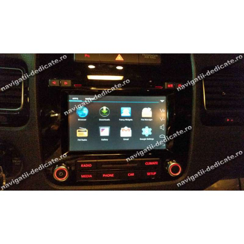 navigatie android pentru rcd550 vw touareg 2012 navd rcd550. Black Bedroom Furniture Sets. Home Design Ideas
