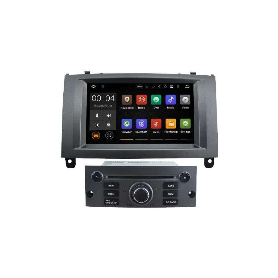 Navigatie Dedicata Android Peugeot 407 Internet Waze NAVD-A5588