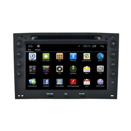 Navigatie Android RENAULT MEGANE 2 DVD GPS Auto CARKIT NAVD-G098