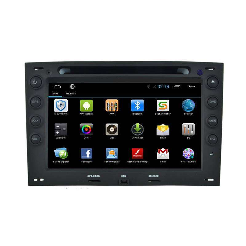 navigatie android renault megane 2 dvd gps auto carkit navd g098. Black Bedroom Furniture Sets. Home Design Ideas