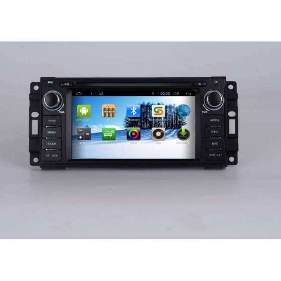 Navigatie Android Dodge Chrysler 300c Jeep Grand Cherokee DVD AUTO GPS NAVD-G202