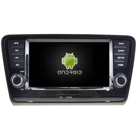 Navigatie Android Octa Core SKODA OCTAVIA 3 2013 NAVD-P5520