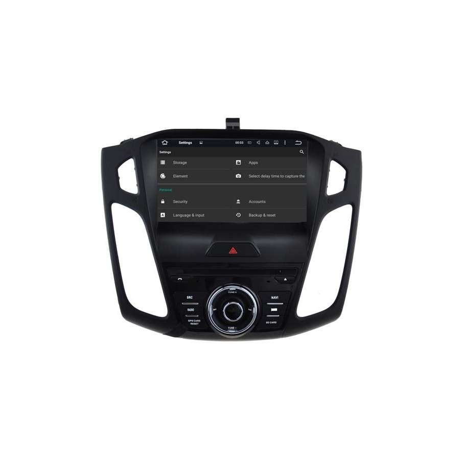 Navigatie Android 7.1 Ford Focus 3 2015 DVD Auto GPS CARKIT NAVD-A8458
