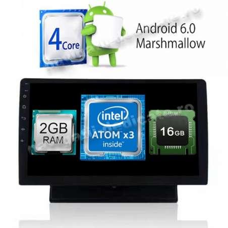 Resigilat Navigatie Android 1DIN Universala Ecran 10.1 Inch Ecran Reglabil Detasabil INTERNET NAVD-i1010