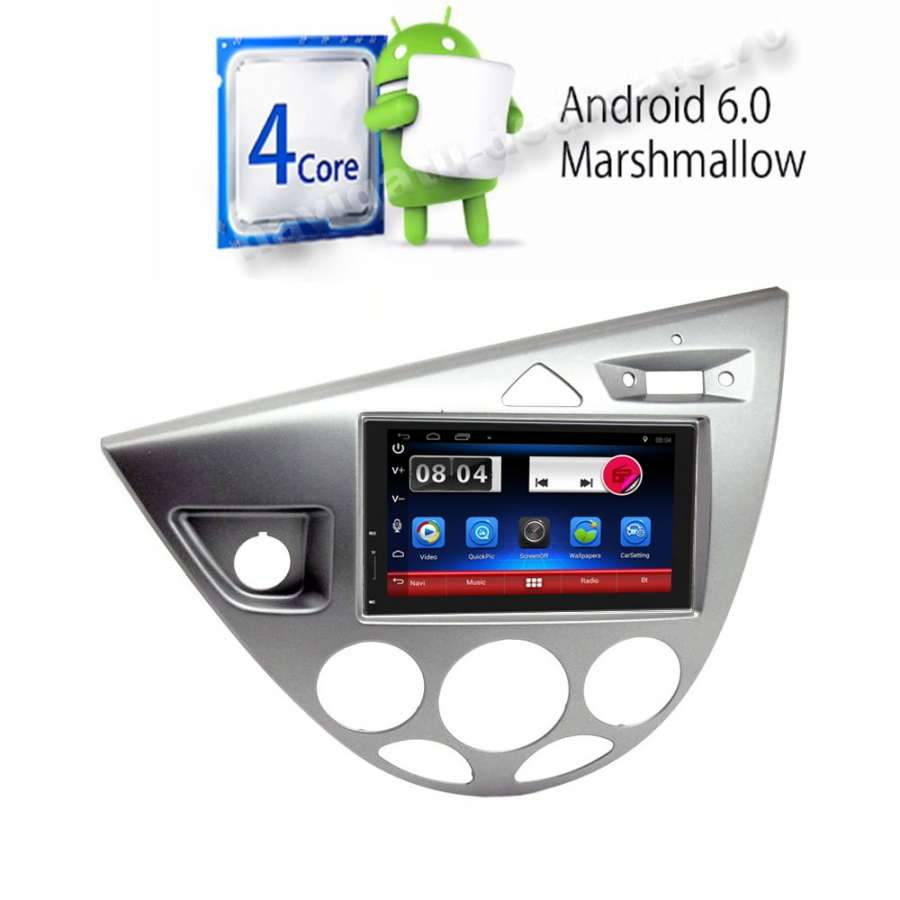 Carpad Navigatie Android Ford Focus Mk1 Gps Carkit NAVD-E902FF
