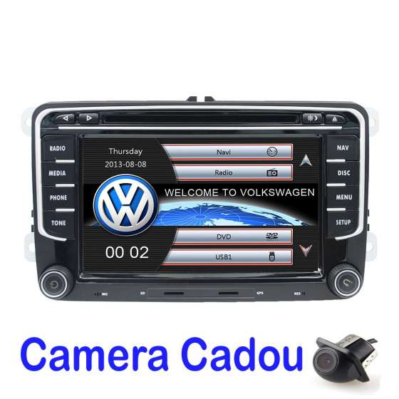 Navigatie Dedicata Vw Skoda Seat Dvd Carkit Usb NAVD-723V V5