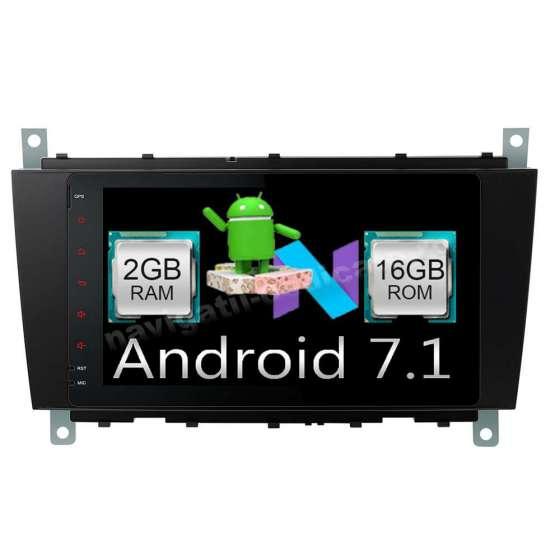 Carpad NAVIGATIE Android 7.1 MERCEDES BENZ W203 C CLASS CARKIT Ecran 8 inch NAVD-A8517