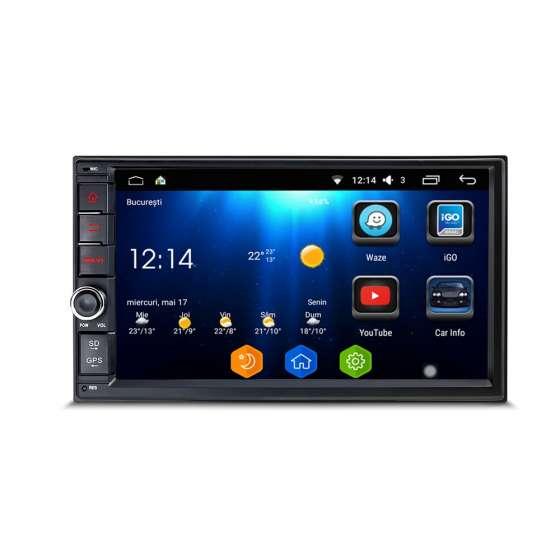 NAVIGATIE 2DIN Universala Android 8.1 Octa Core USB INTERNET NAVD-T7200 V2