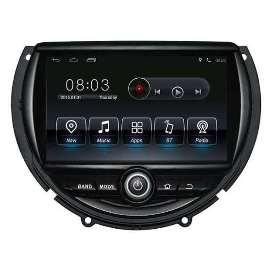 NAVIGATIE Android 8.0 Octa Core 4GB Ram Mini Cooper 2014 NAVD-8845GB