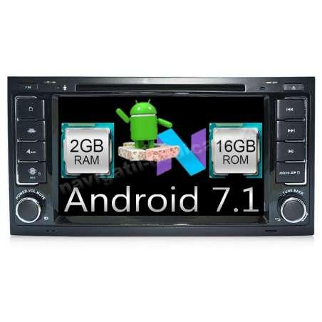 NAVIGATIE Android 7.1 VW TOUAREG MULTIVAN Waze NAVD-A9200 V2