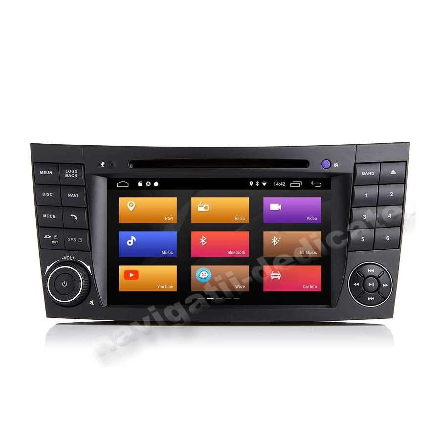 Navigatie Android Mercedes Clasa  E W211 CLS W219 NAVD-P090