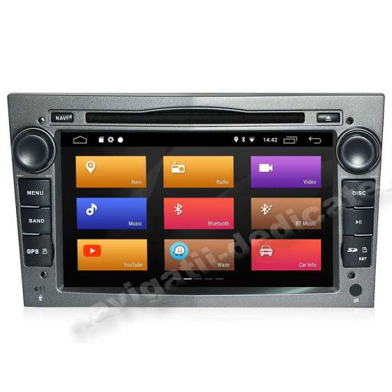 Navigatie Android 10 OPEL Astra H Vectra CORSA NAVD-MT019