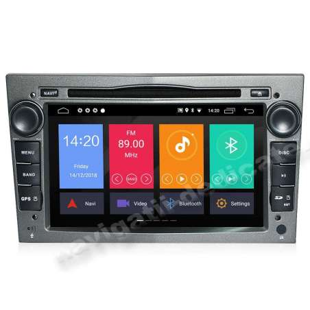 Navigatie Android 8.1 OPEL Astra H Vectra CORSA NAVD-MT019