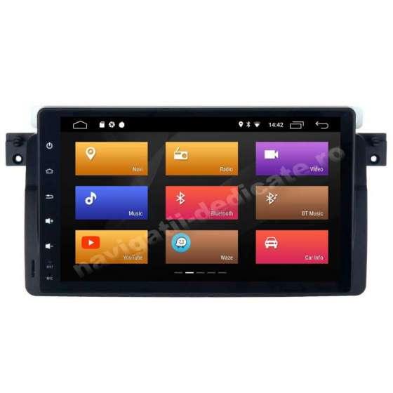 Navigatie Android 10 Ecran 9 inch BMW E46 Rover 75 NAVD-MT9052