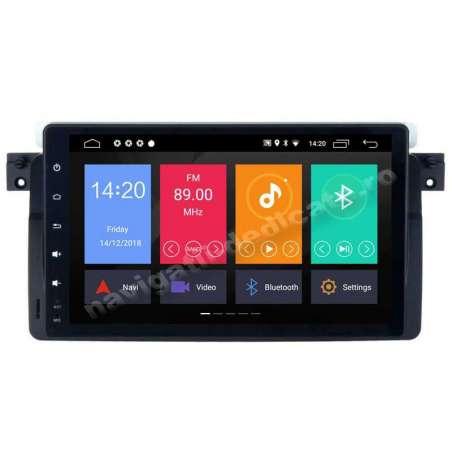 Navigatie Android 8.1 Ecran 9 inch BMW E46 Rover 75 Intel 2GB Ram NAVD-MT9052
