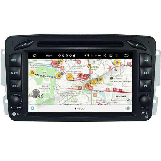 Navigatie Android 10 MERCEDES BENZ C CLASS VITO VIANO W203 2000-2004 NAVD-MT571G