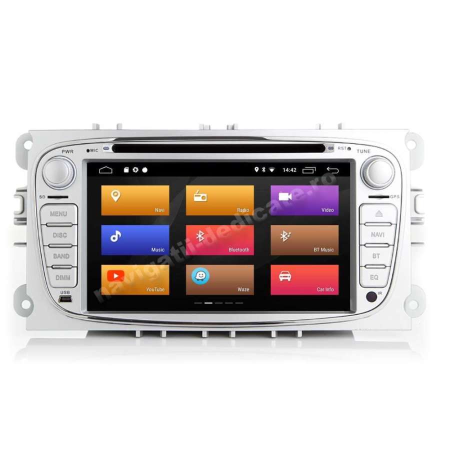 Navigatie Android Ford Focus Mondeo S-Max NAVD-MT9457S
