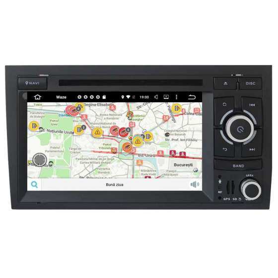Navigatie Android 10 Audi A4 B6 B7 SEAT EXEO NAVD-MT050