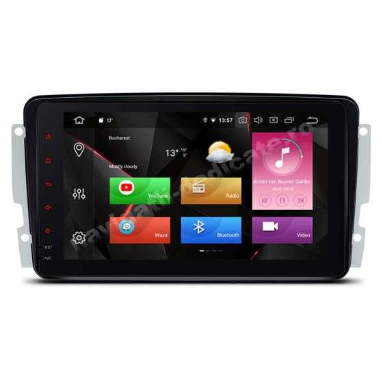 Carpad Navigatie Android 9.0 MERCEDES BENZ C CLASS VITO VIANO W203 2000-2004 NAVD-P9571