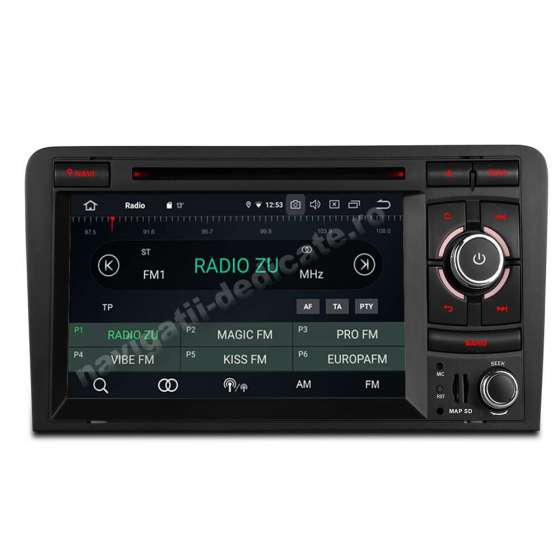 Navigatie Android Audi A3 Octa Core 4GB RAM NAVD-P049