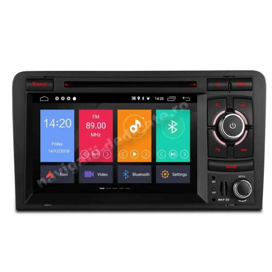 Navigatie Android 10 Audi A3 2GB RAM NAVD-MT049