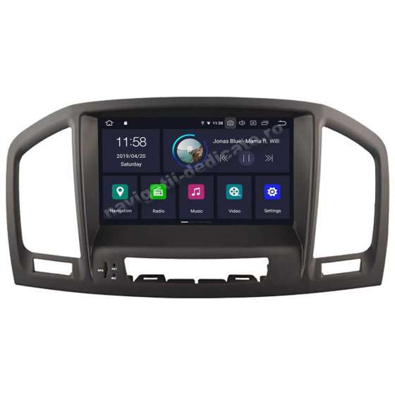 Navigatie Android Opel INSIGNIA DVD GPS CARKIT PX30 NAVD-A573