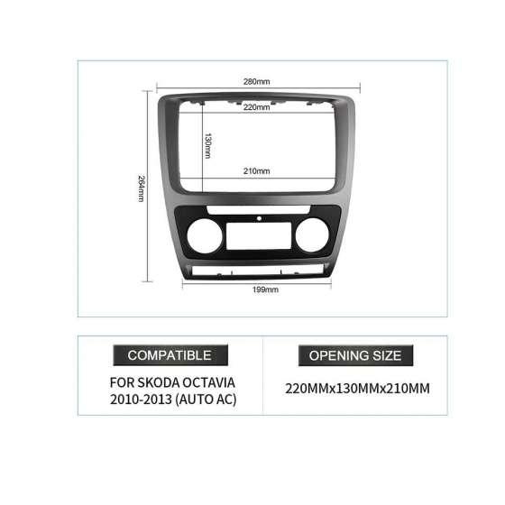 Rama Navigatie Skoda Octavia II Facelift