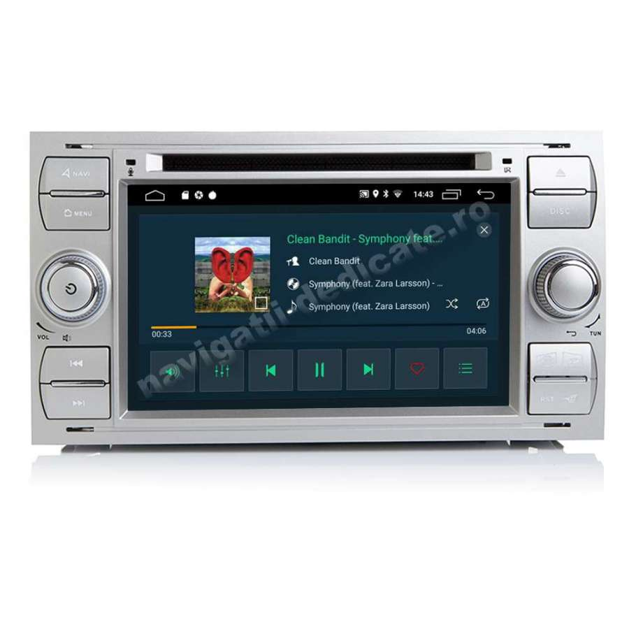 Navigatie Android Ford FOCUS FIESTA FUSION KUGA INTERNET NAVD-MT9488S
