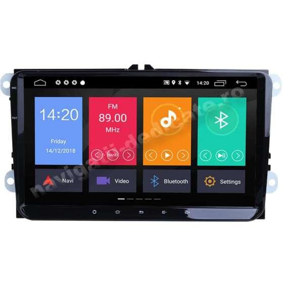 Carpad Ecran 9 inch Navigatie Android 10 Volkswagen Skoda Seat NAVD-MT9800