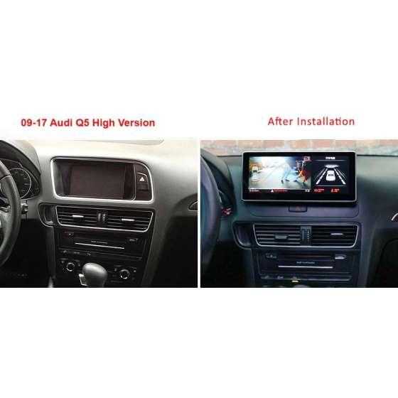 Navigatie Android AUDI Q5 NON-MMI NAVD-AUD-A4 B8 10.25 NO MMI