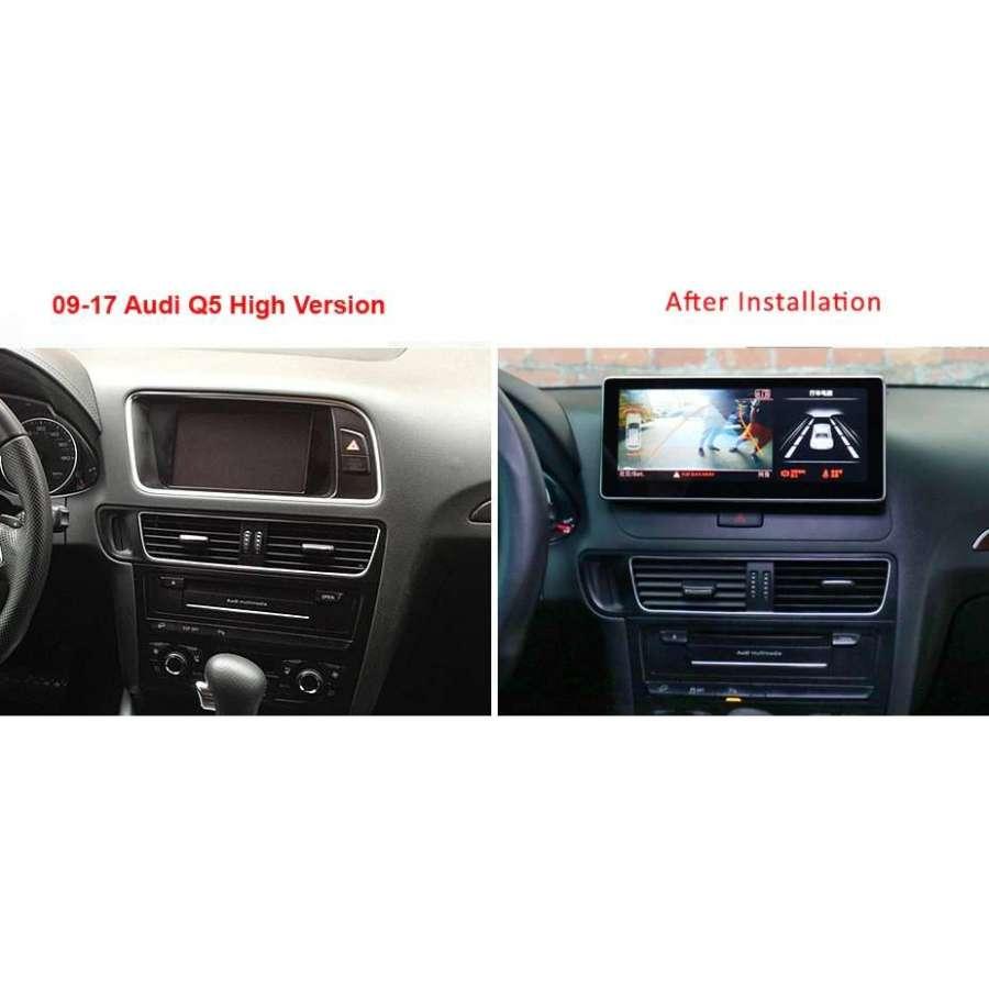 Navigatie Android AUDI Q5 NON-MMI NAVD-Q5NONMMI